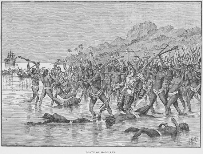 Magalhães oppii kantapään kautta, että ei ole paras idea haastaa 49 miehellä 1500 soturia ilman tykistön suojatulta.