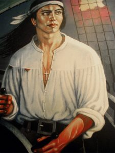 Musta-Henri kelailee jossain Atlantilla, että olisi ehkä pitänyt vetää aamupalaksi pari munaa, eikä lähteä kalaan silloin 1510 heinäkuussa.
